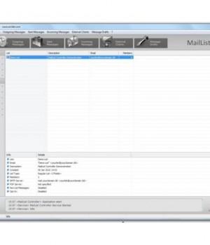 MailList Controller Free Ekran Görüntüleri - 1