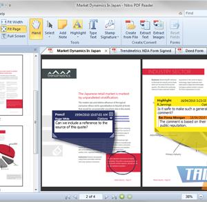 Nitro PDF Reader Ekran Görüntüleri - 5