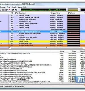 Process Explorer Ekran Görüntüleri - 1