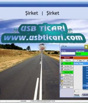 Usb-Ticari Cari Stok Aidat Taksit Programı Ekran Görüntüleri - 2