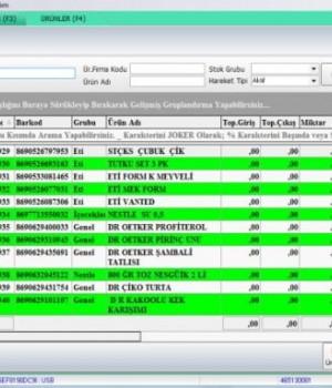 UsbTicari Veresiye Market Cari Stok Barkod Hızlı Satış Ekran Görüntüleri - 2