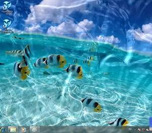 Watery Desktop 3D Ekran Görüntüleri - 1