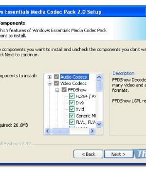 Windows Essentials Codec Pack Ekran Görüntüleri - 2