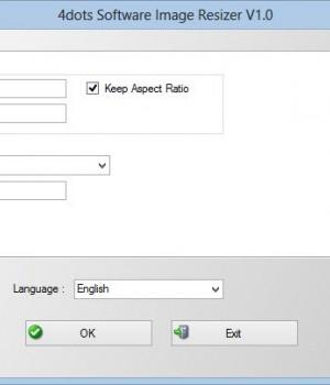 4dots Software Image Resizer Ekran Görüntüleri - 1