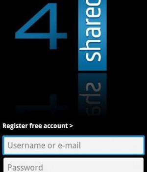 4Shared Mobil Ekran Görüntüleri - 1
