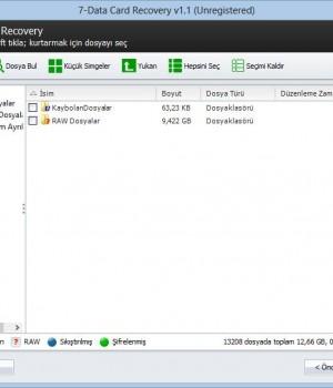 7-Data Card Recovery Ekran Görüntüleri - 1