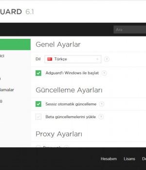 Adguard Web Filter Ekran Görüntüleri - 1