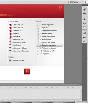 Adobe Flash Professional Ekran Görüntüleri - 2