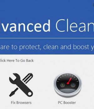 Advanced Cleaner Ekran Görüntüleri - 1