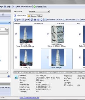 Advanced Renamer Ekran Görüntüleri - 4