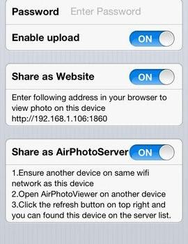 AirPhotoViewer Ekran Görüntüleri - 1