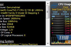 All CPU Meter Ekran Görüntüleri - 1