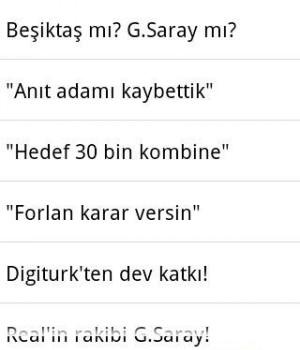 Andro Galatasaray Haber Ekran Görüntüleri - 1