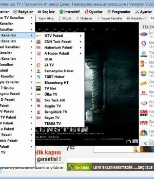 Antensiz TV Ekran Görüntüleri - 5