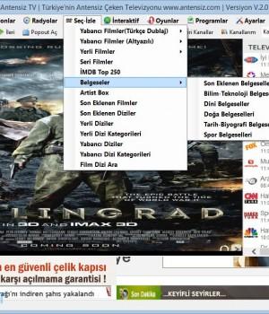 Antensiz TV Ekran Görüntüleri - 3