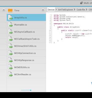 AntTek Explorer (File Manager) Ekran Görüntüleri - 4