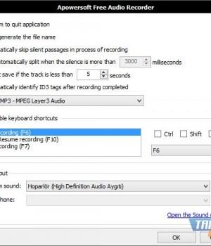 Apowersoft Free Audio Recorder Ekran Görüntüleri - 1