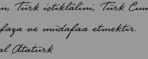 Atatürk El Yazısı Fontu Ekran Görüntüleri - 1
