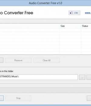 Audio Converter Free Ekran Görüntüleri - 2