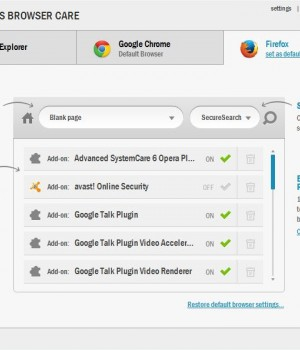 Auslogics Browser Care Ekran Görüntüleri - 2