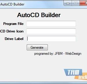 AutoCD Builder Ekran Görüntüleri - 1