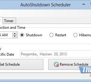AutoShutdown Scheduler Ekran Görüntüleri - 2