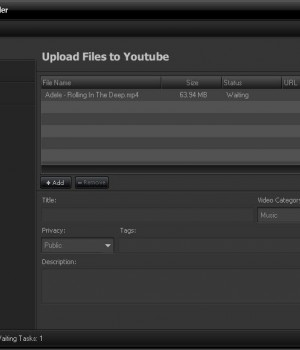 AV Media Uploader Ekran Görüntüleri - 1