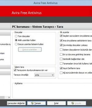 Avira Free Antivirus Ekran Görüntüleri - 1