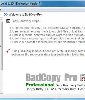 BadCopy Pro Ekran Görüntüleri - 1