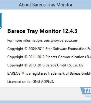 Bareos Ekran Görüntüleri - 2