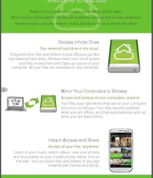 Bitcasa Ekran Görüntüleri - 2