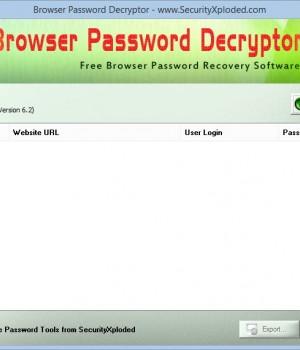 Browser Password Decryptor Ekran Görüntüleri - 1