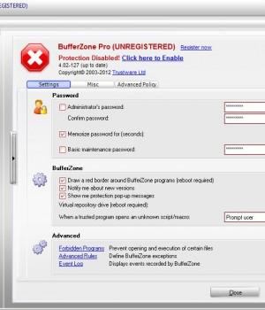 BufferZone Ekran Görüntüleri - 2