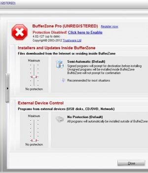 BufferZone Ekran Görüntüleri - 1