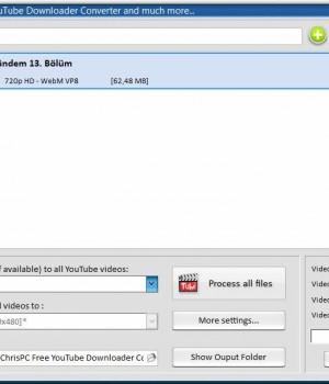 ChrisPC Free YouTube Downloader Mp3 Converter Ekran Görüntüleri - 1