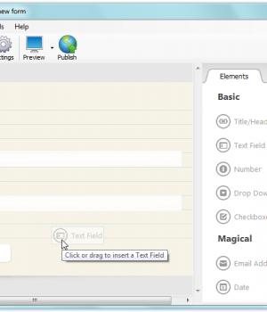CoffeeCup Web Form Builder Lite Ekran Görüntüleri - 3