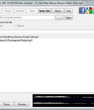 Cute Audio Mixer Free Ekran Görüntüleri - 1