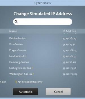CyberGhost VPN Ekran Görüntüleri - 3