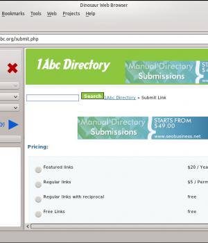 Dinosaur Web Browser Ekran Görüntüleri - 2