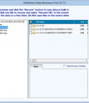 DiskGetor Data Recovery Free Ekran Görüntüleri - 1