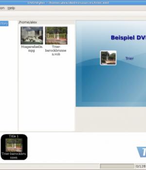 DVDStyler Ekran Görüntüleri - 2