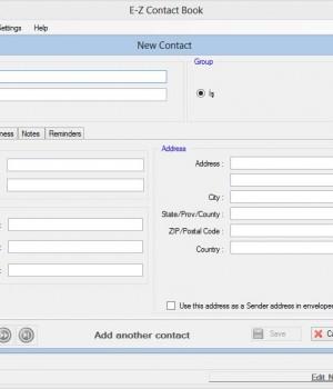 E-Z Contact Book Ekran Görüntüleri - 2