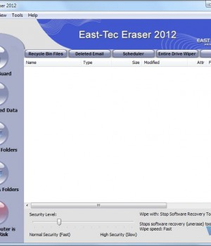 East-Tec Eraser 2013 Ekran Görüntüleri - 1