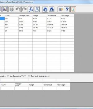 Easy Tables Ekran Görüntüleri - 1