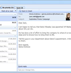 EmailTray Ekran Görüntüleri - 1