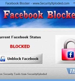 Facebook Blocker Ekran Görüntüleri - 2
