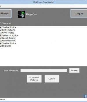 FB Album Downloader Ekran Görüntüleri - 2