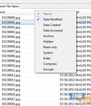 File Attribute Changer Ekran Görüntüleri - 1