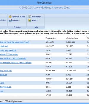 File Optimizer Ekran Görüntüleri - 7