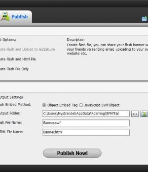 Flash Banner Maker Ekran Görüntüleri - 1